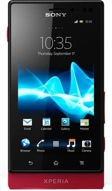Sony Xperia Sola (Red, 8 GB)(512 MB RAM)
