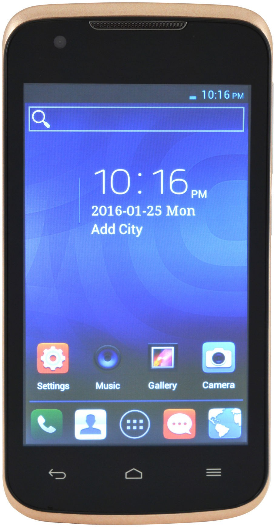 Camerii CM47Golden-Ginger Android (Golden, 256 MB)(1 GB RAM)