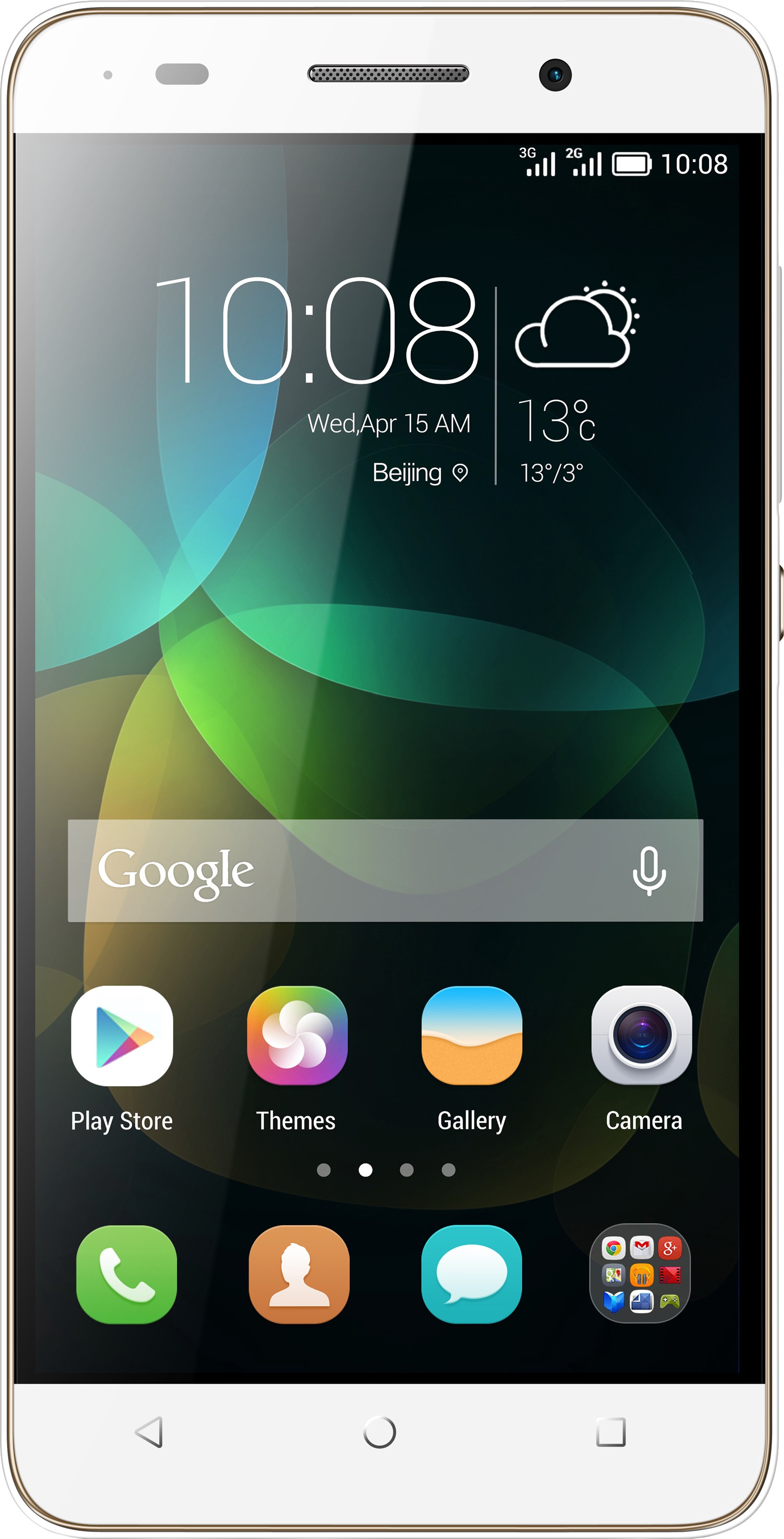 Honor 4C (White, 8 GB)(2 GB RAM)