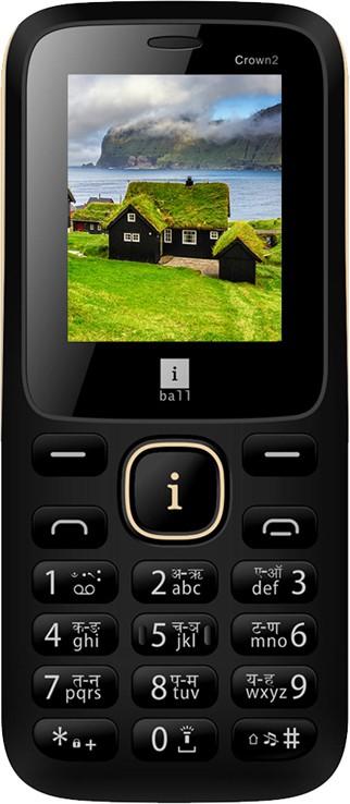 iBall Crown 2 (W/O Camera)(Black)