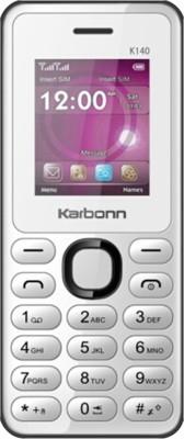 Karbonn K140 (White Black, )