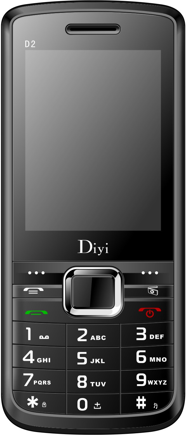 Diyi D2(Black,Red)