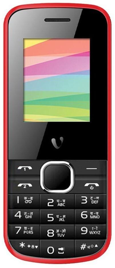 Videocon V1419(Black, Red)