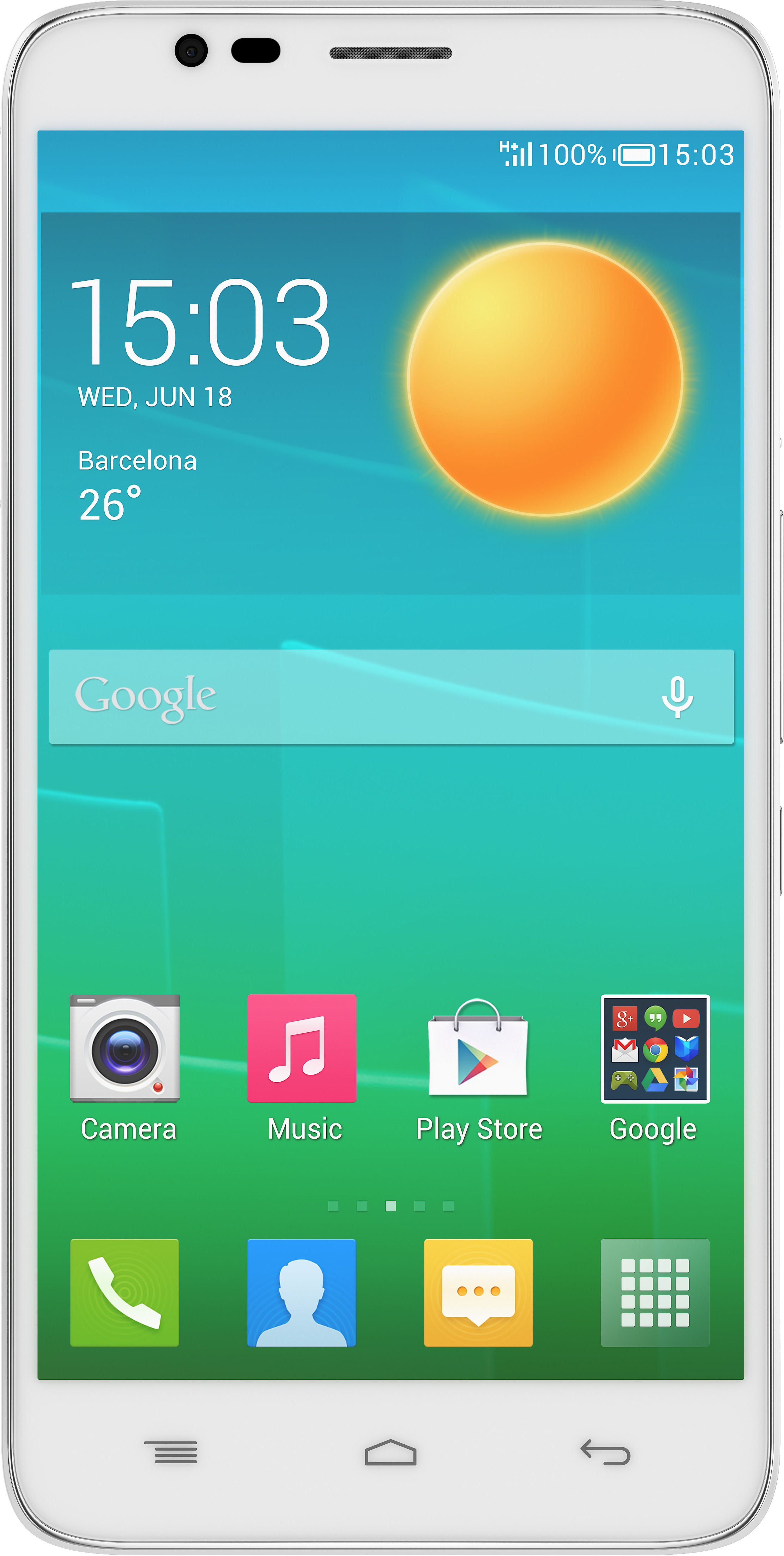 Alcatel Onetouch Flash 6042D (Crystal White, 8 GB)(1 GB RAM)