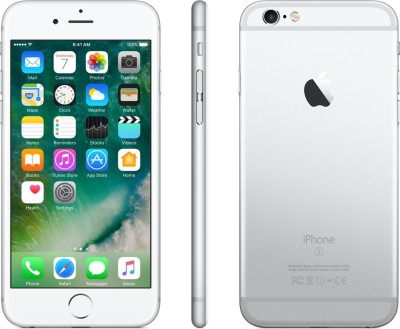 Apple iPhone 6s (Silver, 64 GB)