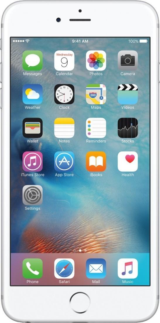 Apple iPhone 6s Plus (Silver, 32 GB)(2 GB RAM)