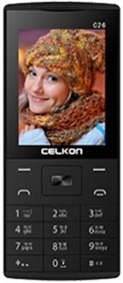 Celkon C26 (BlackYellow, 512 MB)