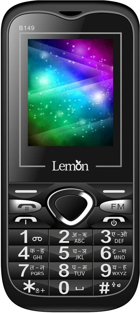 Lemon B149 Multimedia Big Battery(Black)
