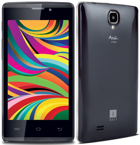 iBall ARC 3+ (Black, 8 GB)(512 MB RAM)