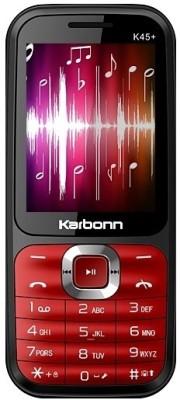 Karbonn K45+ (Black & Red, )