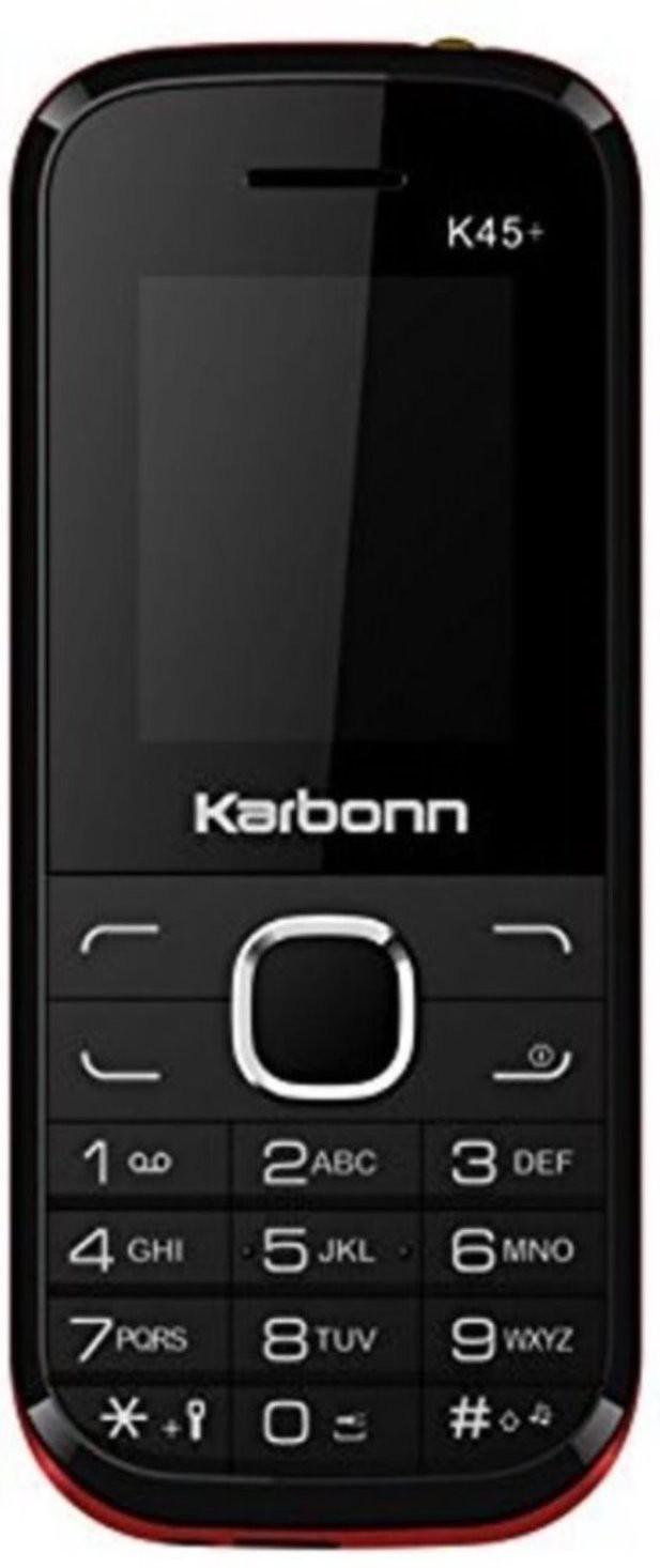 Karbonn K45+(Black & Red) image