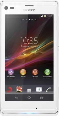Sony Xperia L (Diamond White, 8 GB)