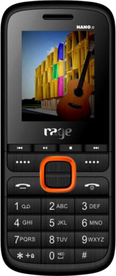 RAGE Nano M(Black & Orange)
