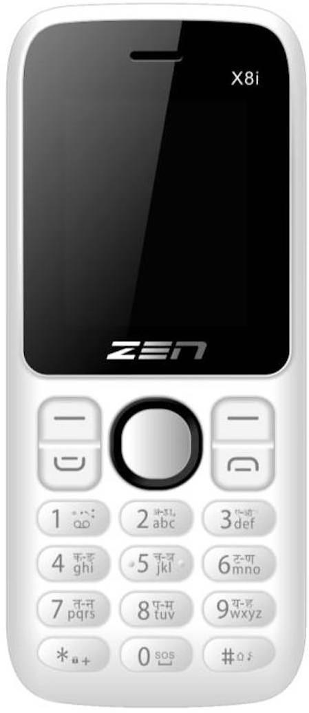 Zen X8i(Black/White)