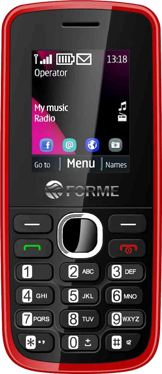 Forme K1(Black & Red)