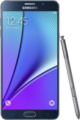 SAMSUNG Galaxy Note 5 (Dual Sim) (Black Sapphire, 32 GB)