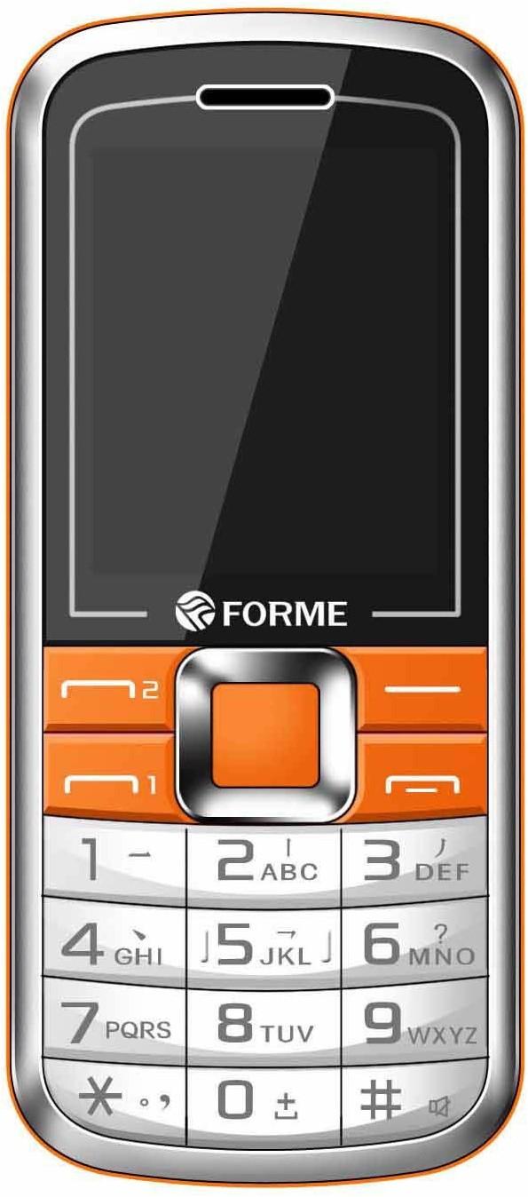 Forme D9(White & Orange)
