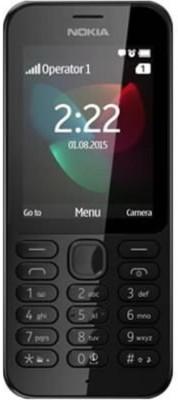 Microsoft NOKIA 222 DS (Black, 16 MB)