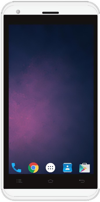 Celkon Celkon Millennia 2GB Star 16GB - Silver White(Silver White)
