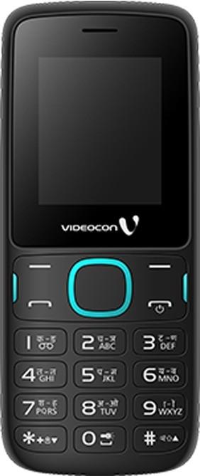 Videocon V1393(Black, Blue)