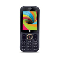 iBall 2.4 Neon Dual Sim - Black and Blue(Blue)
