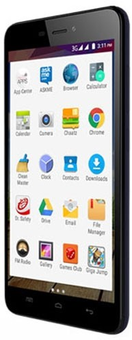 Micromax Canvas Play (Blue, 8 GB)(1 GB RAM)