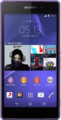 Sony Xperia Z2 (Purple, 16 GB)