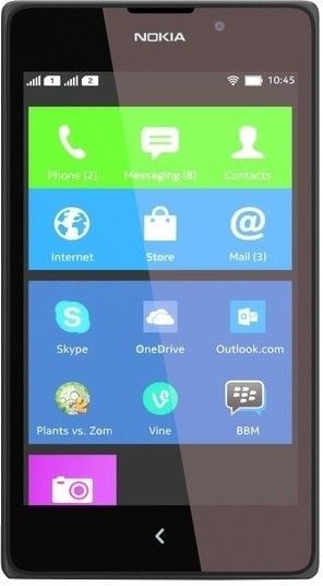 Nokia XL (Black, 4 GB)(768 MB RAM)