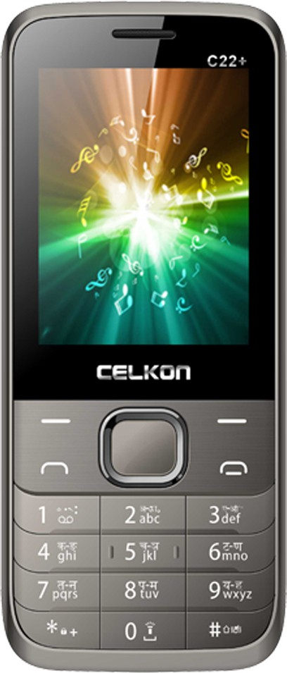 Celkon C22PLUS(Lightgrey)