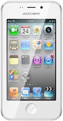 Adcom Ikon 4 White (White, 8 GB)