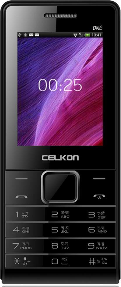 Celkon Charm One(Black)
