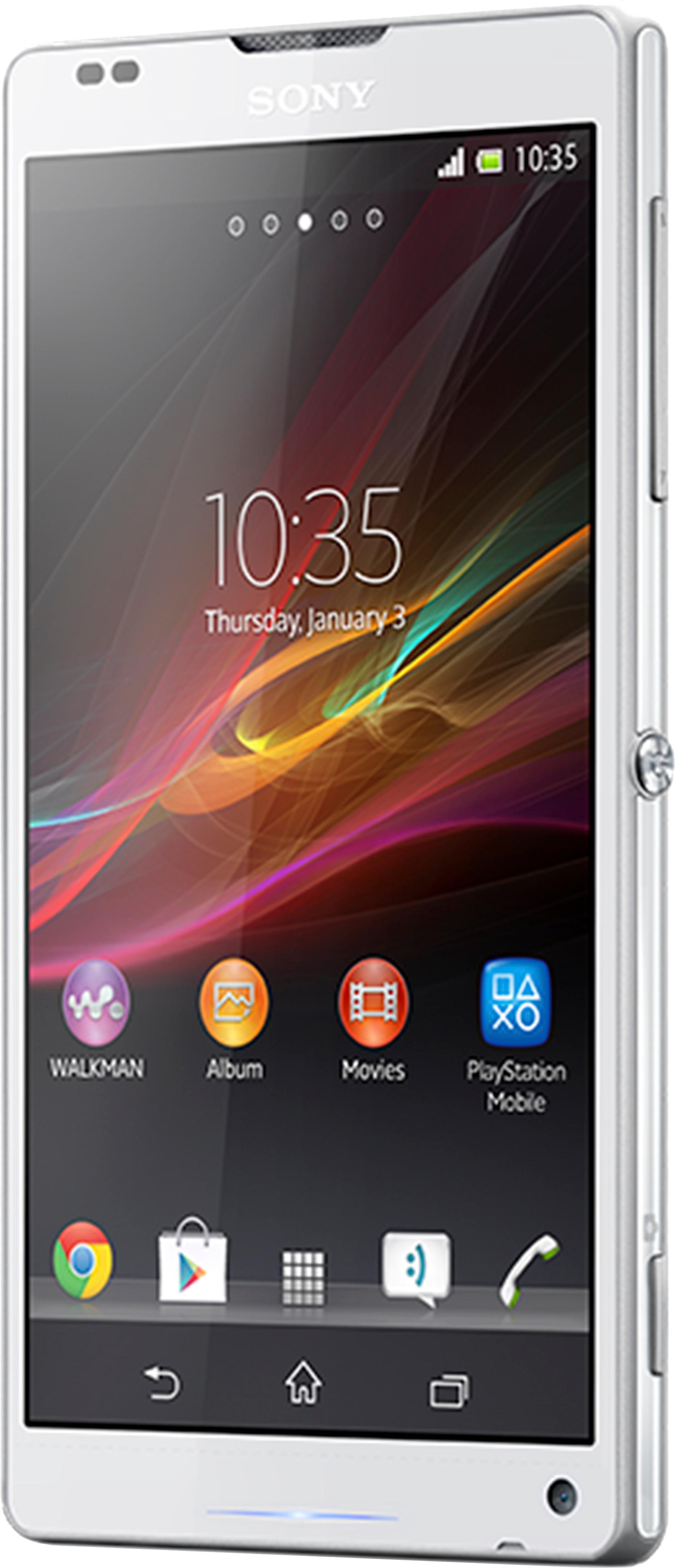 Sony Xperia ZL (White, 16 GB)(2 GB RAM)
