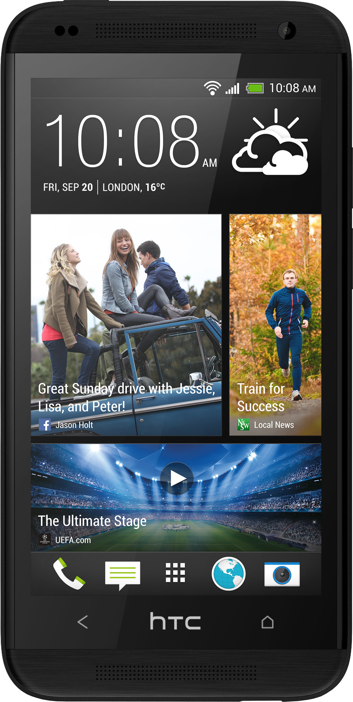 HTC Desire 601 (1GB RAM, 4GB)