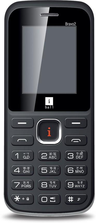iBall Bravo2 1.8L Dual Sim(Black, Green)