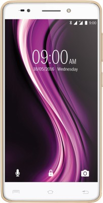 Lava X81 4G with VoLTE (Gold, 16 GB)(3 GB RAM)