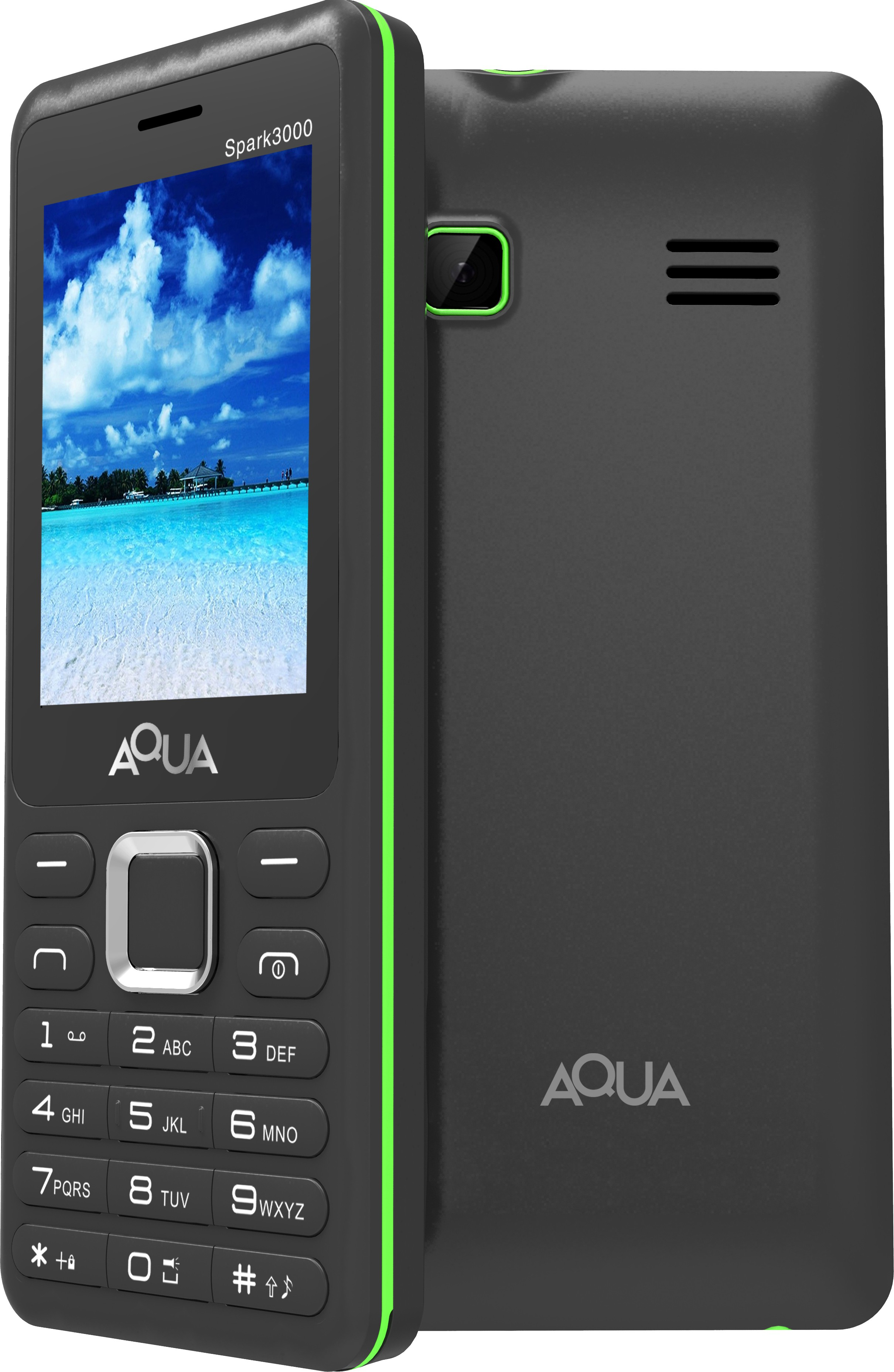 Aqua Spark 3000(Black)