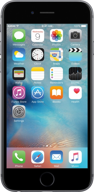 Apple iPhone 6s (Space Grey, 16 GB)