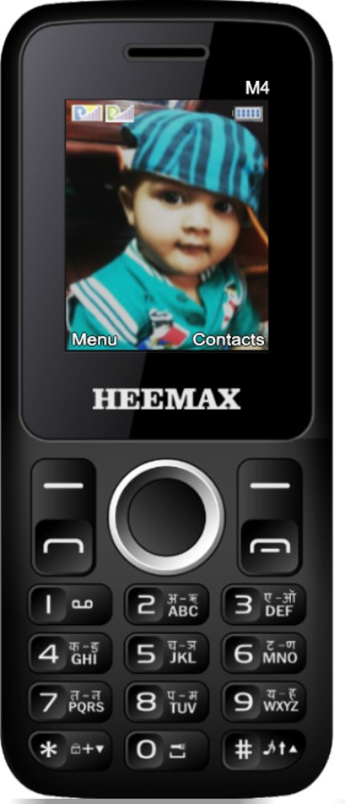 Heemax M4(Black & Blue)