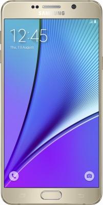 SAMSUNG Galaxy Note 5 (Gold, 64 GB)