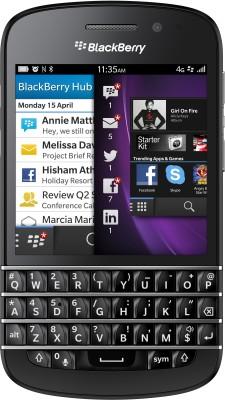 BlackBerry Q10 (Black, 16 GB)