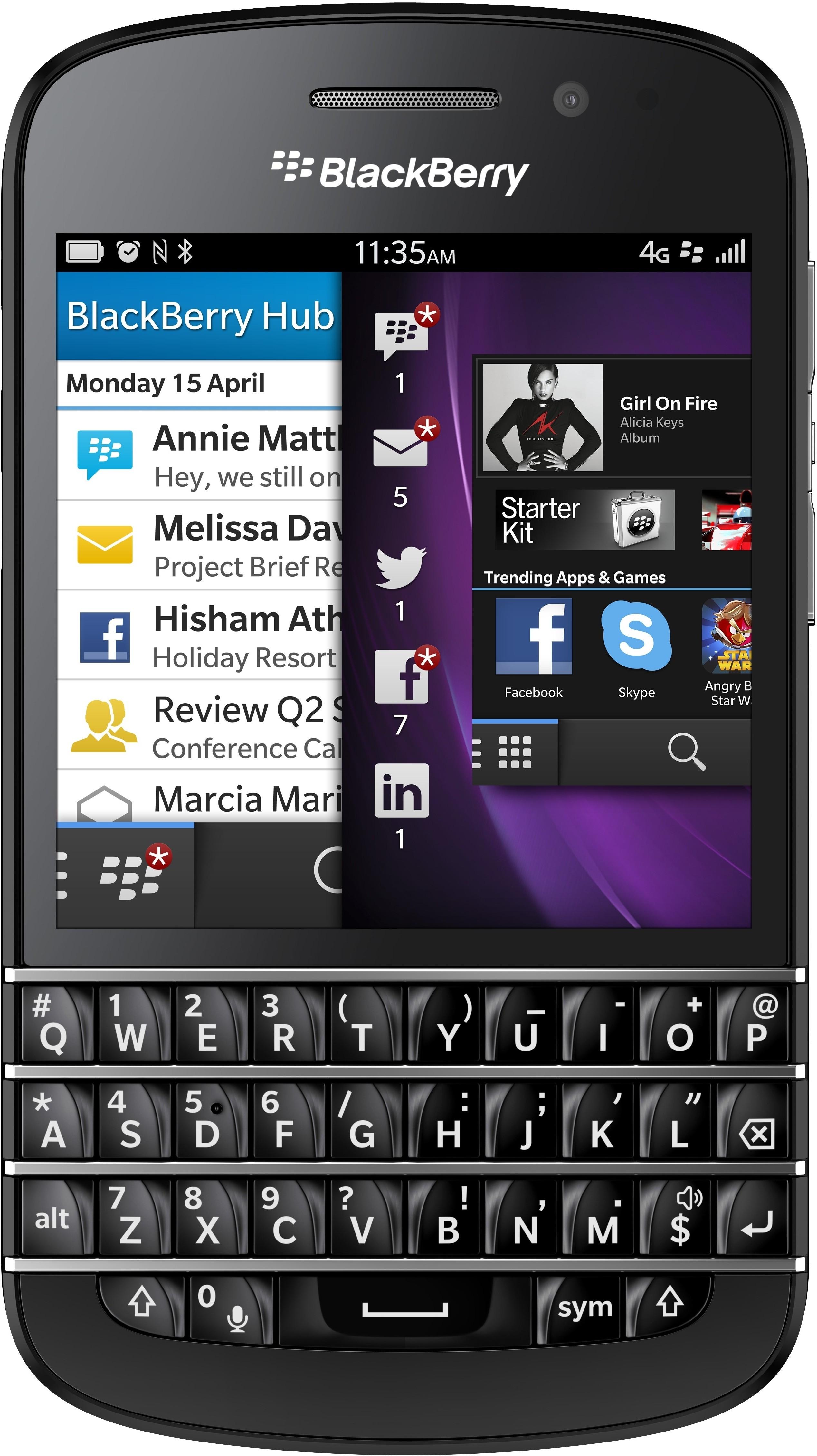 Blackberry Q10 (2GB RAM, 16GB)