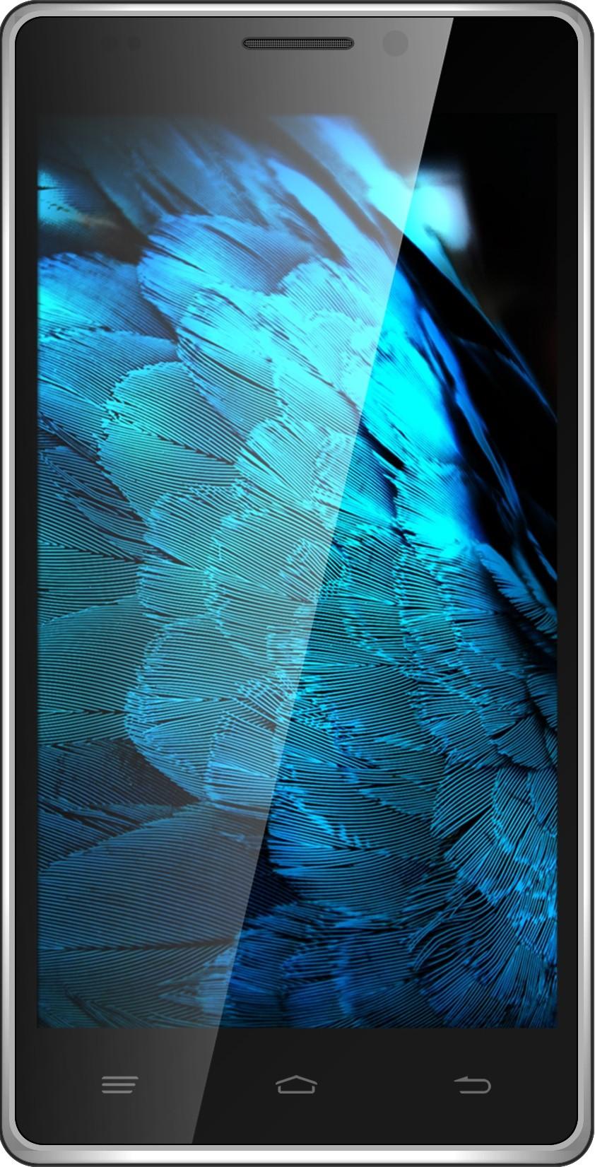 Intex Aqua Power HD (Black, Silver, 16 GB)(2 GB RAM)