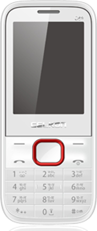 Celkon C6 star(White & Red)