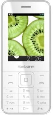 Karbonn K PHONE 1 (White, Champagne, 32 MB)