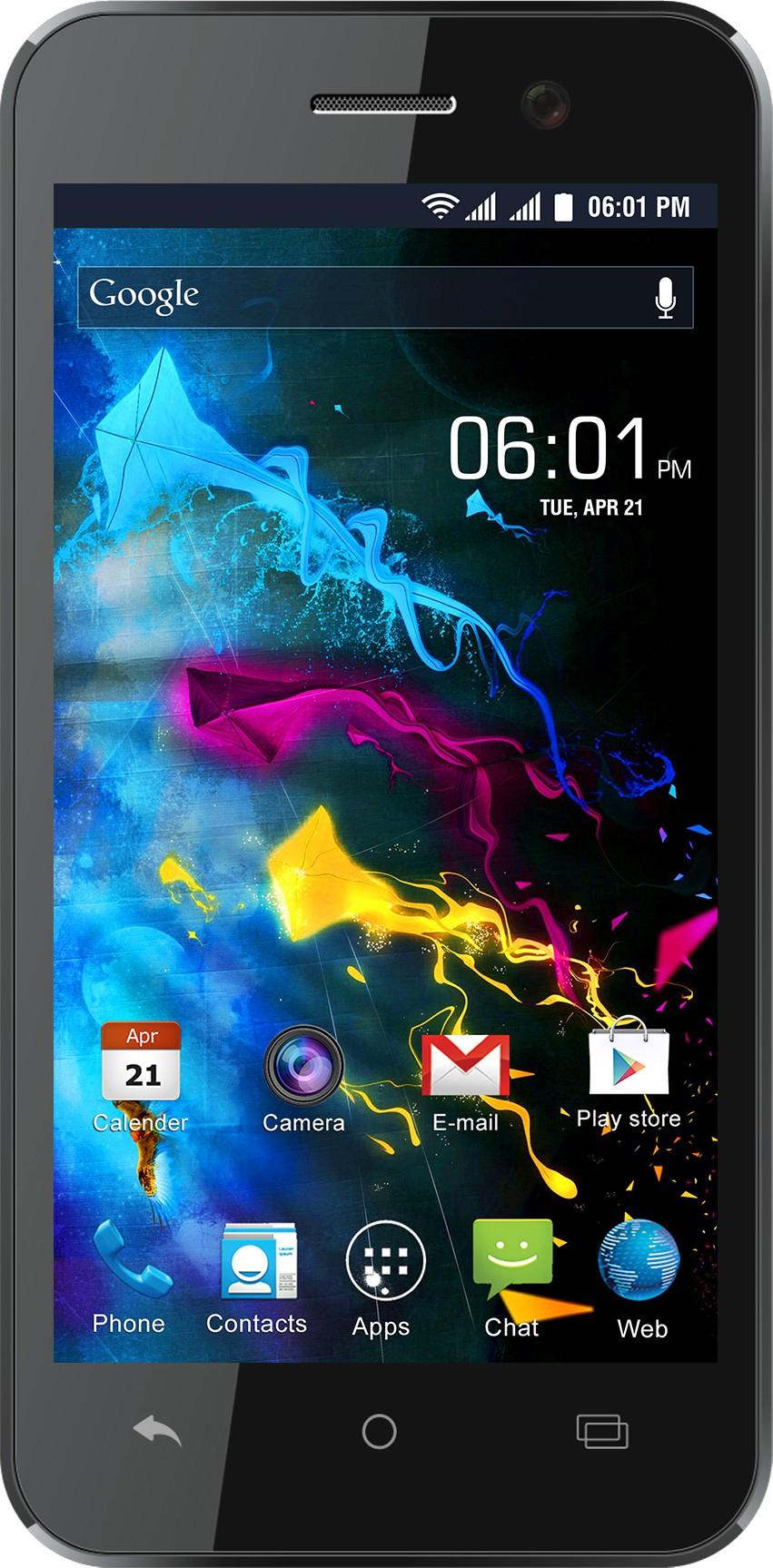 Reach Cogent (Black & Blue, 8 GB)(1 GB RAM)