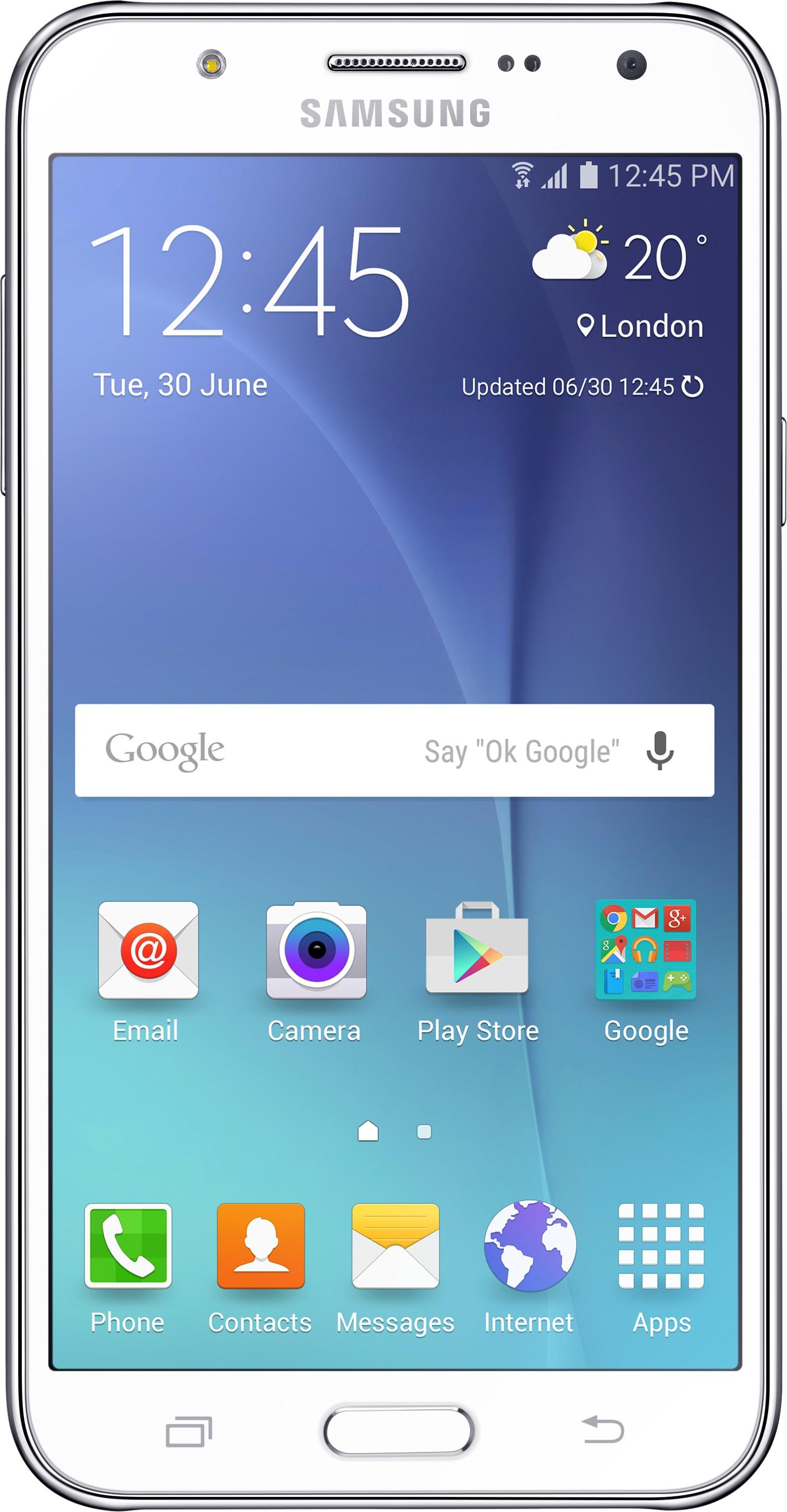 SAMSUNG Galaxy J5 (White, 8 GB)(1.5 GB RAM)