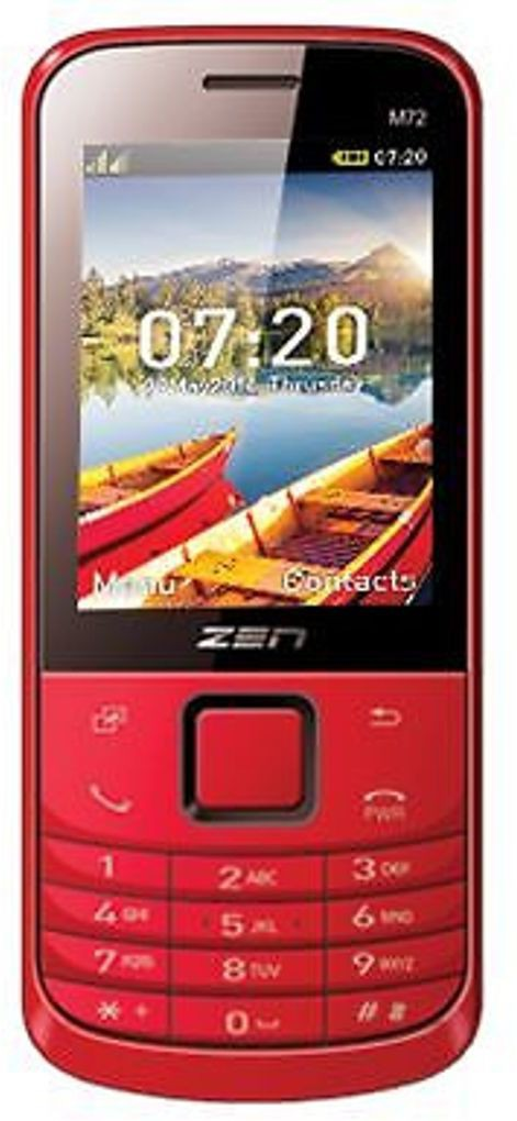 Zen M72 New(Red)