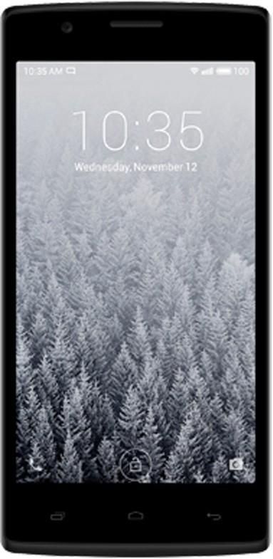 Karbonn Titanium High 2 S203 Dual Sim - Black and Blue (Black, 8 GB)(512 MB RAM)