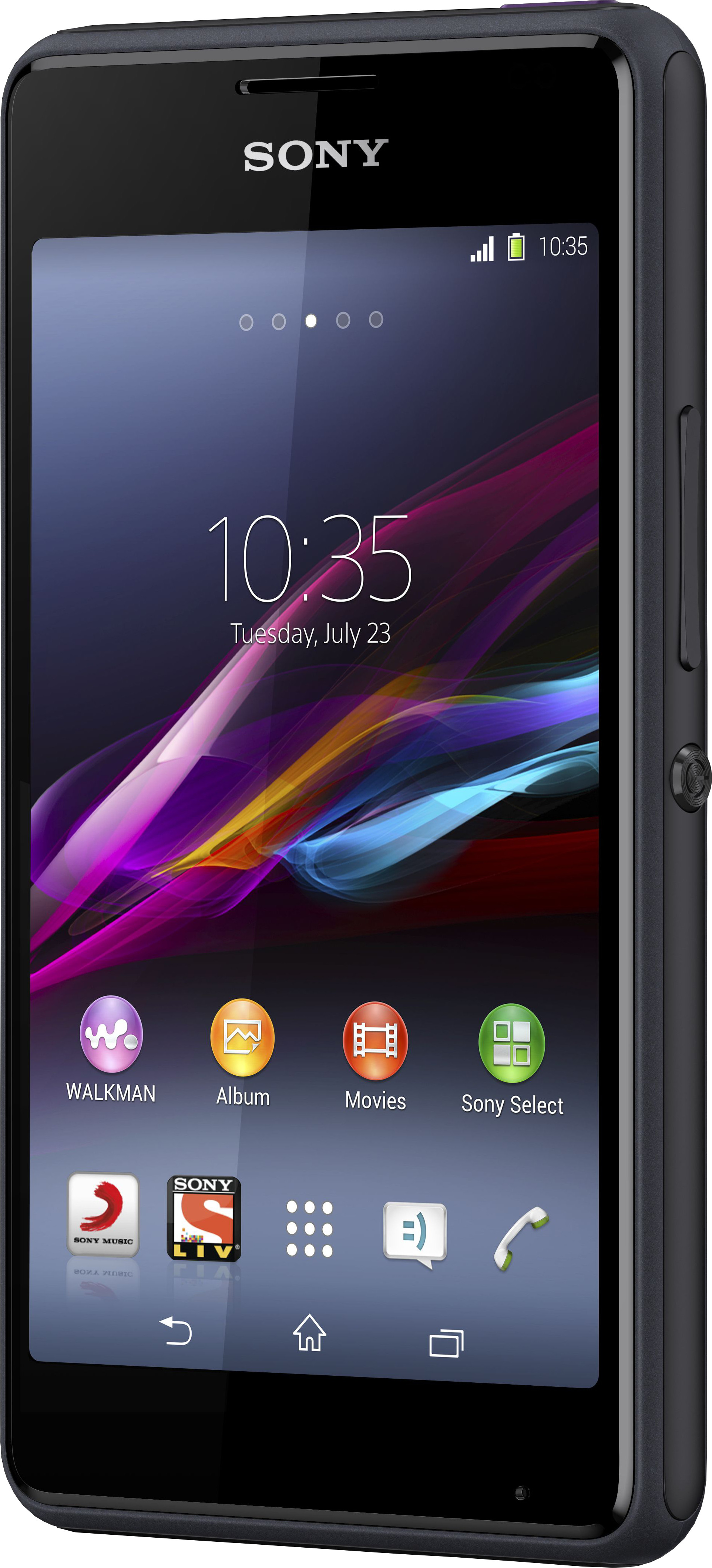 Sony Xperia E1 (Black, 4 GB)(512 MB RAM)