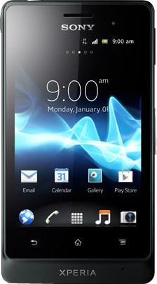 Sony Xperia Go (Tactile Black, 8 GB)(512 MB RAM)